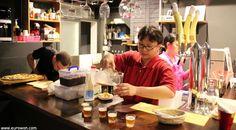 Cata de cervezas artesanales coreanas.