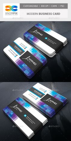 Modern Business Card Template PSD. Download here: http://graphicriver.net/item/modern-business-card/16120442?ref=ksioks
