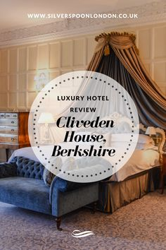Angie Silverspoon - Luxury Hotel Review Cliveden House, Berkshire