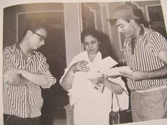 R D Burman , Meena Kumari and Mehmood