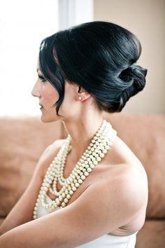 Wedding Hair Inspiration Tutorials   The French Twist   Bridal Musings
