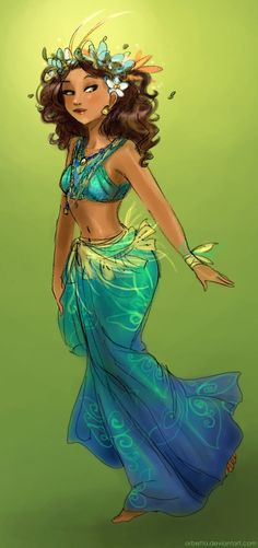 Moana by Arbetta on deviantART <-- what the next Disney Princess could look like