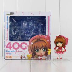 Anime Card Captor Cardcaptor Sakura Kinomotosakura Action Figure Toy Doll For Birthday Christmas Gifts Novelty & Special Use Costume Props