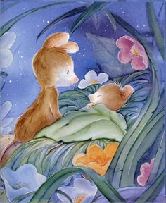 good night, sleep well, and sweet dreams Tatty Teddy, Finding Neverland, Good Night Moon, Night Stars, Nighty Night, Cute Illustration, Sweet Dreams, Art Pictures, Cute Art