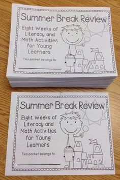 This is a big summer review packet, but might be worth checking out since it's free!