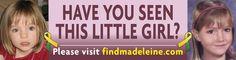 missing/abucted children/Madeleine McCann