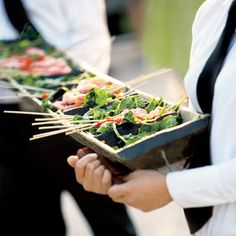 Family Style Table Service: One of the 7 hot trends in Wedding Food
