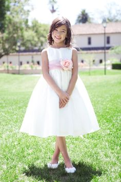 One of our classic Flower Girl Dresses has to be this versatile dress. Just add a color sash and DONE! http://www.justuniqueboutique.com/index.php?dispatch=products.view&product_id=715