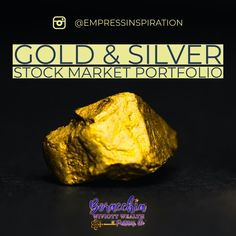 Achieve More with the Gold Stock & Silver Stock Market Portfolio! Subscribe Today! For the latest News & Financial Tips follow us on Instagram: @EmpressInspiration #goldstocks #silverstocks #stocks #stockmarket #stockstobuy #savings #retirement #retirementplanning #educationplanning #financialplanning #financialfreedom #financialliteracy #financialindependence #financialadvisor Financial Literacy, Financial Tips, Financial Planning, Best Stocks To Buy, Stock Portfolio, Mining Company, Stock Prices, Gold Stock