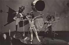 Party of the Bockbierkandidaten, Bauhaus Dessau, 1927-28 by T. Lux Feininger