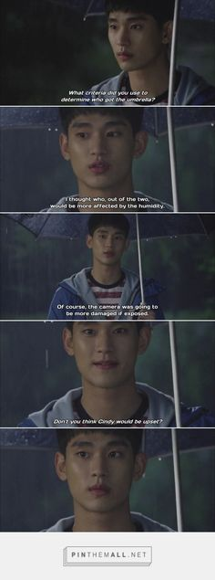 I ship the Umbrella Couple and I'm not even watching #Producer. #korean #kdrama