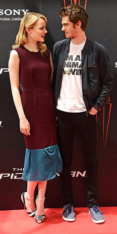 MORE LOVE FOR MADRID photo   Andrew Garfield, Emma Stone