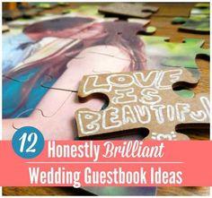 12 Honestly Brilliant Wedding Guestbook Ideas