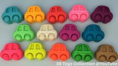 Play Doh Cars with Superheroes Molds Fun and Creative for Kids