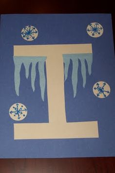 letter I: The Princess and the Tot: Letter Crafts - Uppercase & Lowercase Preschool Letter Crafts, Alphabet Letter Crafts, Abc Crafts, Preschool Projects, Classroom Crafts, Preschool Activities, Letter Art, Alphabet Books, Art Projects
