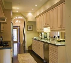 Modern Kitchen Design Ideas, Galley Kitchens Maximizing Small Spaces