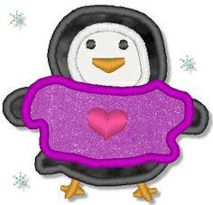 Polar Friends Set- 6 Designs, 2 Sizes! | Winter | Machine Embroidery Designs | SWAKembroidery.com Lynnie Pinnie