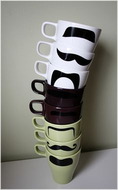 they have mustaches...need i say more?! :)