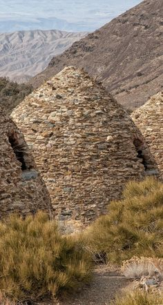 Off the beaten path in Death Valley, the charcoal kilns are one of it's most interesting sights.