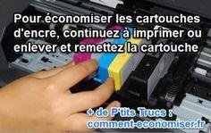 comment économiser les cartouches d'encre d'imprimante quand elles sont vides