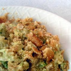Broccoli and Cauliflower Casserole Allrecipes.com  MADE THIS TURN OUT GOOD only change I made was I used a cup of rice