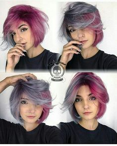 Pulp Riot purple hair Mo