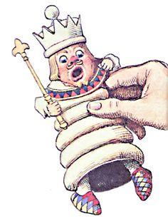 Alice in Wonderland Characters Clip Art