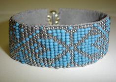 Bead Loom Bracelet by ~skjonnrevsolv on deviantART