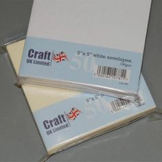 Craft UK UK Envelopes Ivory 5x5