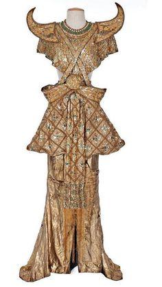 by adrian' lady of tropics' hedy lamarr's' kali dress (debbie reynold's collection)