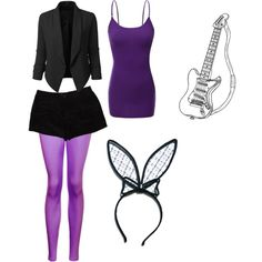 Bonnie the bunny by thebrokendoll on Polyvore featuring polyvore fashion style Doublju T By Alexander Wang