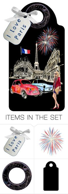 """""""I Love Paris"""" by sjlew ❤ liked on Polyvore featuring art"""
