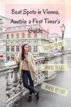 Discover The Best Spots In Vienna Austria. A First Timers Guide To All The Stylish Places Of The City, Including Sights, Cafes And Best Boutique Hotels. Get Inspired And Have A Great Vienna Trip. Voyage Europe, Europe Travel Guide, Backpacking Europe, Travel Destinations, Holiday Destinations, European Vacation, European Destination, European Travel, Bucket List Europe