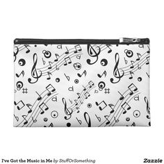 I've Got the Music in Me Travel Accessories Bag