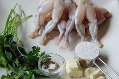 Cuisse de Grenouille: Frog's leg and japanese pumpkin. Gourmet food for babies!