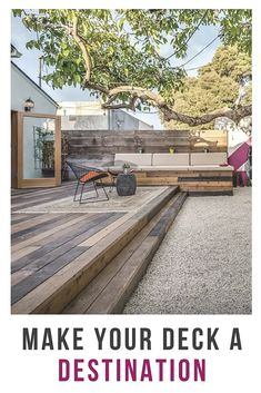 Make use of every inch of your deck with these space-smart ideas for building, decorating, or maximizing its square footage so you can reap the benefits of sunshine and fresh air all season long.