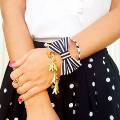 The Meet Me in Paris Bow Bracelet by kaitlinkendalldesign on Etsy Jewelry Party, Diy Jewelry, Hay Bale Wedding, Bow Bracelet, Chanel Jacket, Money Makers, Dress To Impress, Preppy, Fashion Inspiration