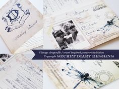 #weddinginvitations  www.secretdiary.co.za
