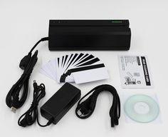 Deftun MSR605 HiCo Magnetic Stripe Card Reader Writer Encoder MSR206