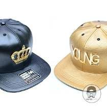 Boné Aba Reta Snapback Young Money Couro Original