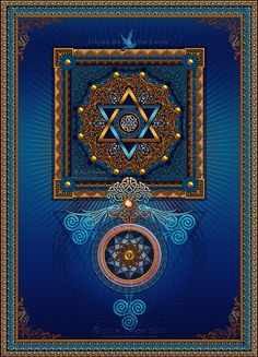Ascension by Lily A. Seidel. Sacred Geometry