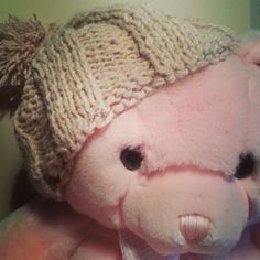 Beanie for teddy bear