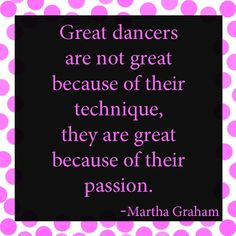 Great dancers...