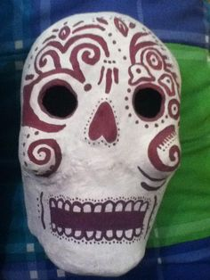 Calavera - Mexican Skull Design 1  Made by Erika Hernández