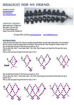 Free Bead Bracelet Pattern