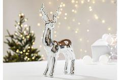 Reinsdyr fra Skeidar Silver Christmas, Modern Christmas, Christmas Time, Deer, Colours, Reindeer