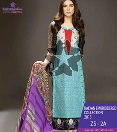 Kalyan Designer Lawn by ZS Textile sparks the greed in every heart to get this design.