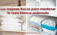 En toda casa existe ese lugar, placard o clóset de ropa blanca. Allí guardamos normalmente la ropa de uso doméstico, como sábanas, toallas, manteles, entre otros. Mantener ese espacio ordenado y bi...
