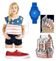 """Fourth of July look❤️"" by hannahniedert on Polyvore"