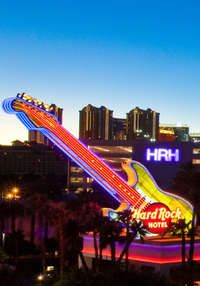 Stay at the Hard Rock hotel in Las Vegas